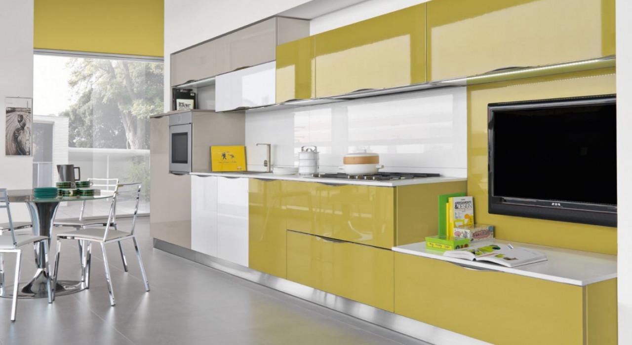 Ante in vetro la soluzione per illuminare la cucina secondlifekitchen - Dipingere ante cucina ...