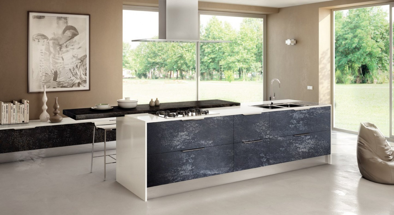 Top cucina gres : i nuovi decorativi effetto marmo ...
