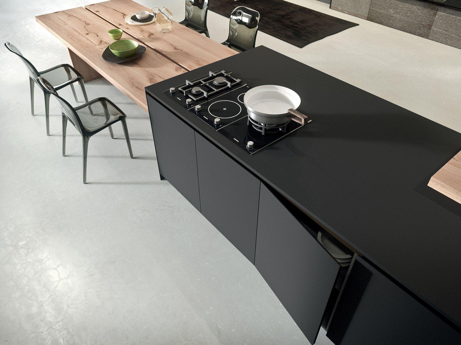 Top In Fenix Il Materiale Intelligente Per La Cucina Secondlifekitchen